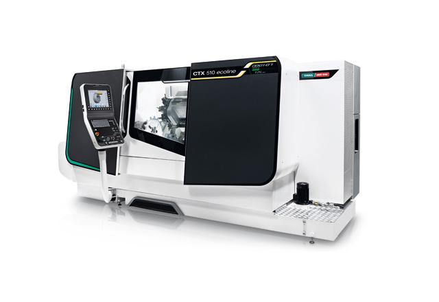 2 - Tokarka CNC DMG MORI CTX510 Ecoline