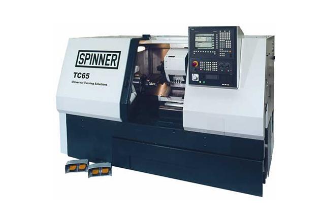 3 - Tokarka CNC SPINNER TC65